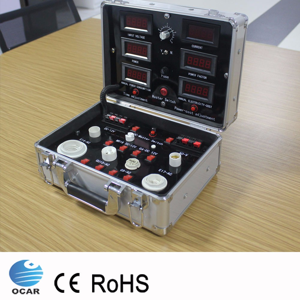 Multifunction LED testing suitcase, LED Test Case, LED Demo Case