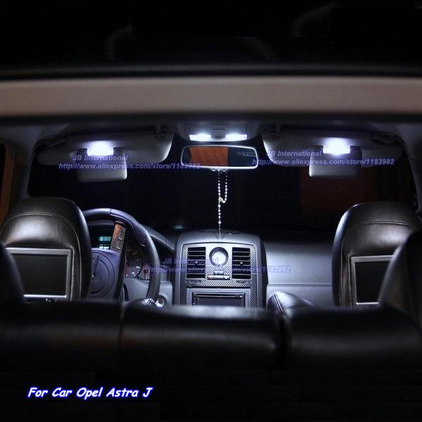 acheter pour opel astra j opc voiture led int rieur lumi re bar kit x non blanc. Black Bedroom Furniture Sets. Home Design Ideas