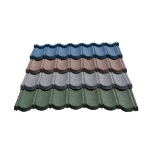 Light Weight Building Material Stone Coated Steel Roof Tile