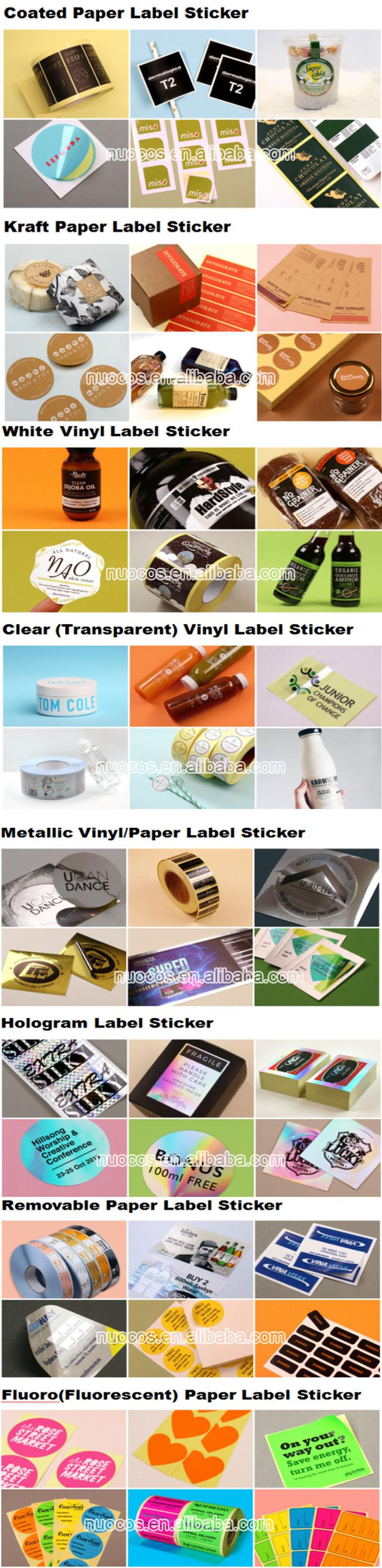 Custom Health Care Products Vitamin and Pharmaceutical Packaging Labels