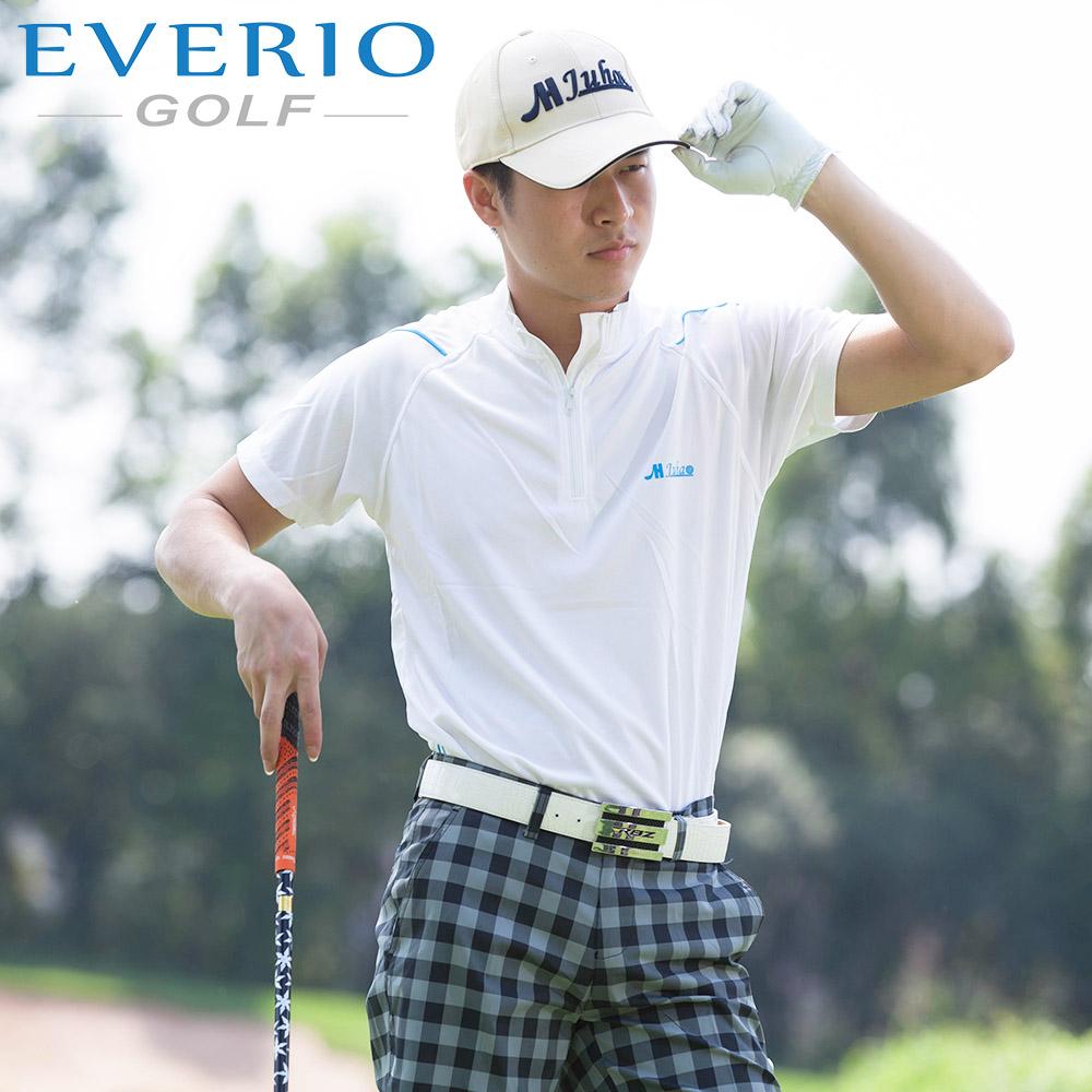 dd13c62ed483a يفيريو الغولف الرجال عادي الألوان الغولف قميص تنفس سريعة جاف الغولف قميص  القطن ملابس رياضية الملابس