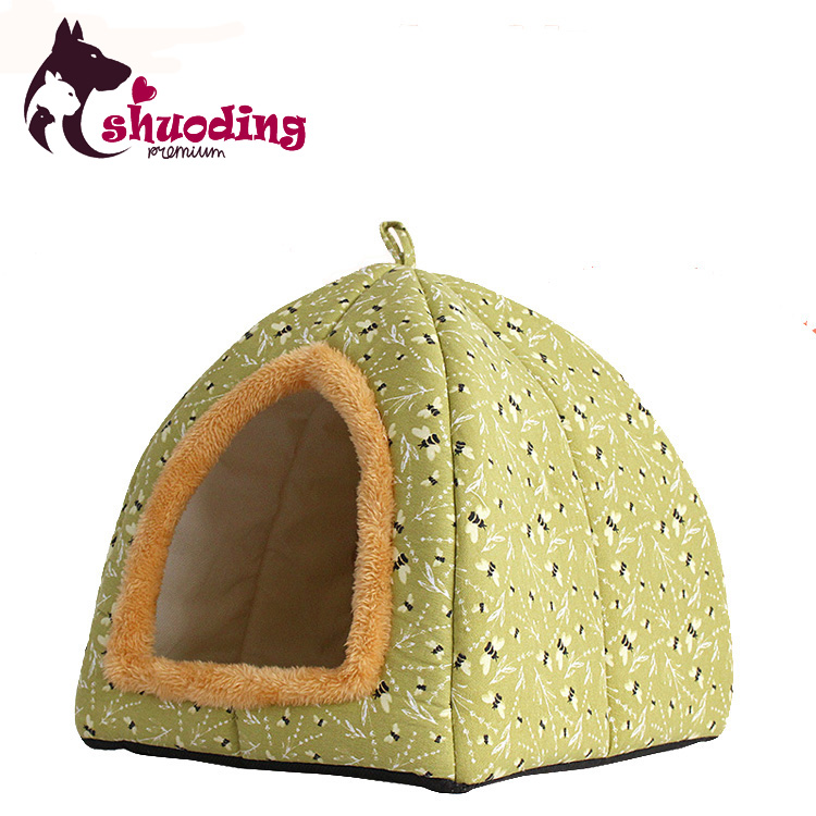 Eco - friendly Comfortable Indoor Triangular Pet Dog And Cat Kennel