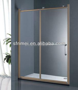 New Arrival Rose Gold Sliding Smart Glass Shower Door - Buy Smart ...