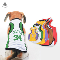 Pet Clothes Basketball Unique Vest Summer clothes of dog