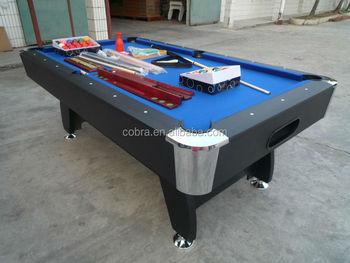 Classic Billiard Table/ball Return Pool Game Table/8 Feet Billiard Table  Equipment/