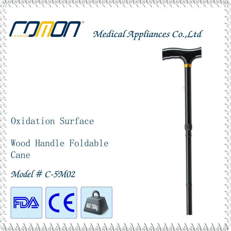 2015 new foldable aluminum walking cane walking stick crutch for elderly disabled people