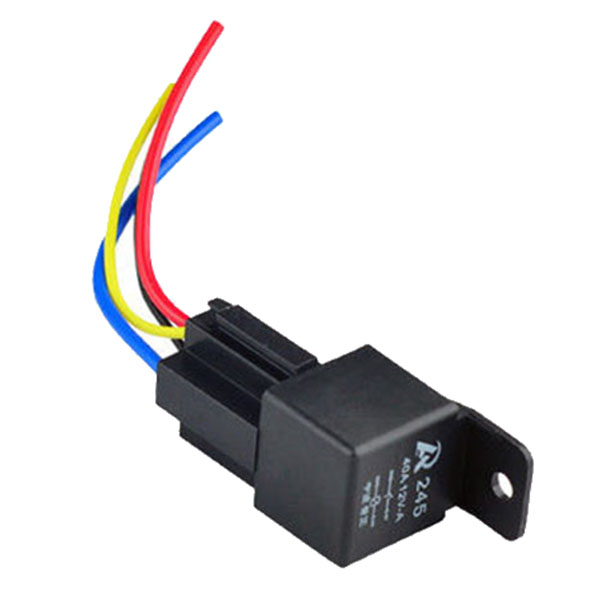 Spdt 12 Volt 40 4 Pin Relay Likewise 5 Pin Relay Wiring Diagram On 5