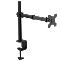 desk single arm monitor stand