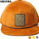 Custom Label printing tape custom logo 6 panel snapback corduroy hat wholesale