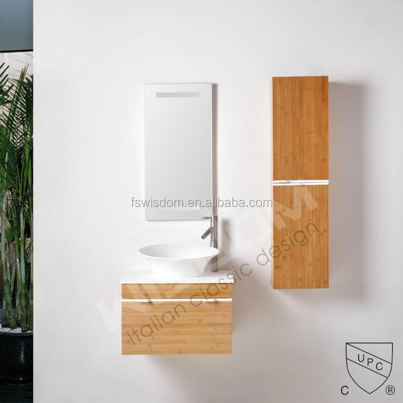 solid surface wash basin bamboo vanity bathroom cabinet wd2134 1 buy bamboo vanitybamboo bath cabinetsbamboo file cabinet product on alibabacom