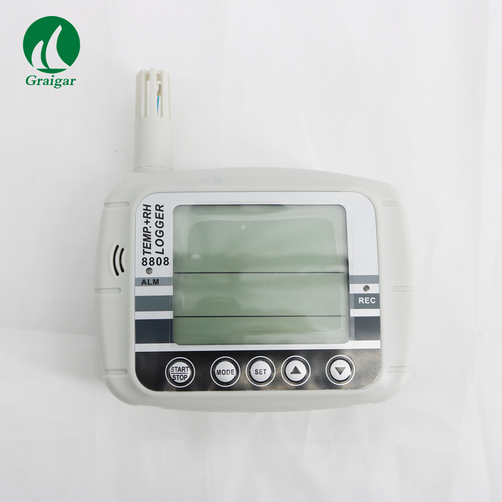 IP Ethernet thermometer humitidy temperature meter logger