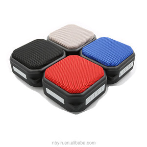 NBY2230 Cube waterproof IPX 5 wireless bluetooth speaker for sauna with lanyard