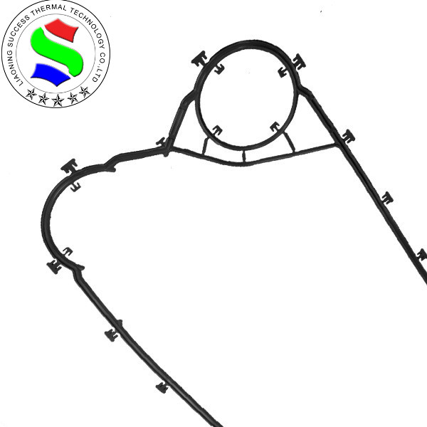 high level plate heat exchanger clip gasket for sealing