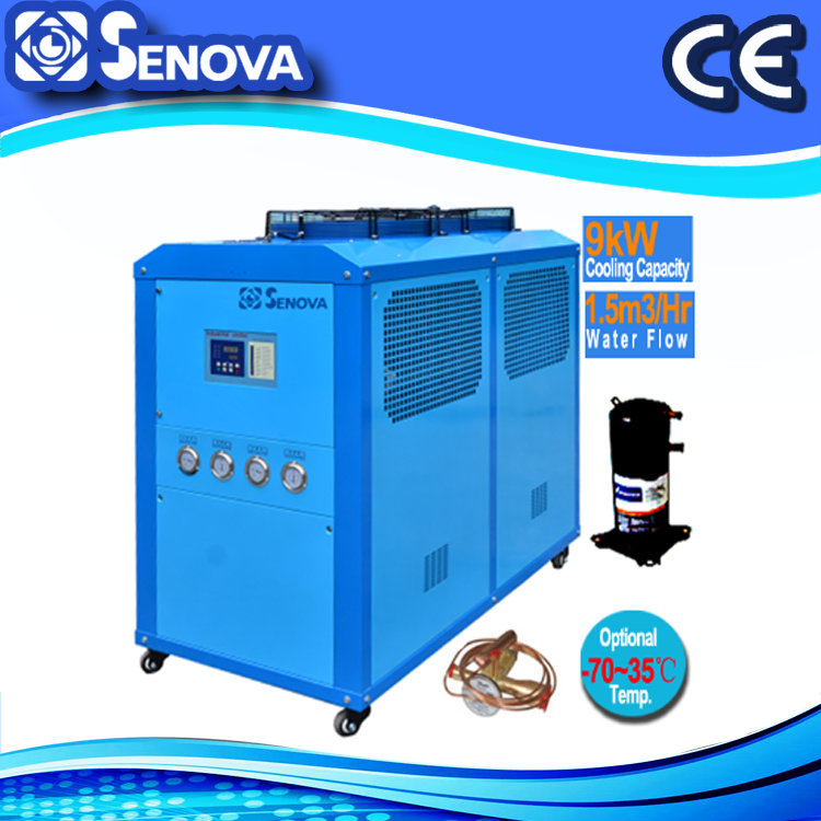 9KW R22 R134a Mini Water Chiller System Price