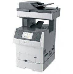 """Lexmark X748dte Color Laser MFP (35 ppm) (1.2 GHz) (512 MB) (8.5"""" x 14"""") (2400 x 600 dpi) (Max Duty Cycle 100,000 Pgs) (p/s/c/f) (Duplex) (Ethernet) (USB) (1,100 Sheet Input) (HW No Free Freight)"""