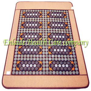 natural jade electric heating magnetic therapy massage jade mattress