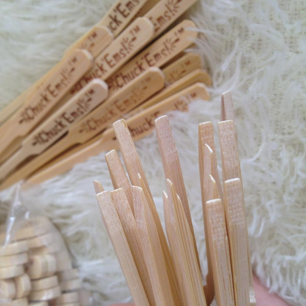 factory supplier construction bamboo sticks for pick food