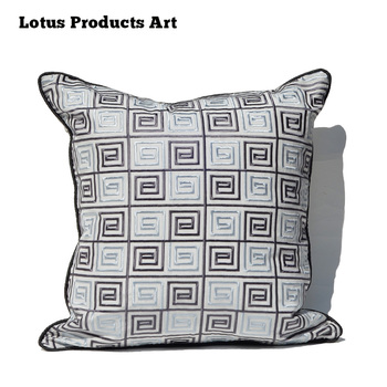 New Design Bohemian Style Embroidered Sofa Seat Cushion Covers