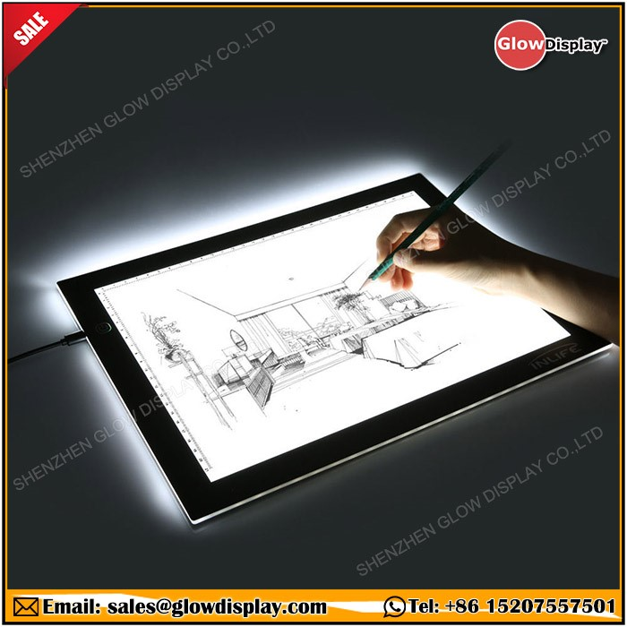 Ac Powered Light Box For Tattoo Tracing For Artists Designers  Photographers