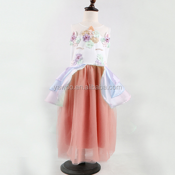 Für Party 2018 Kleid Pferdedruck Kleider Einhorn Fette Yawoo Mädchen PkX8ONnZ0w