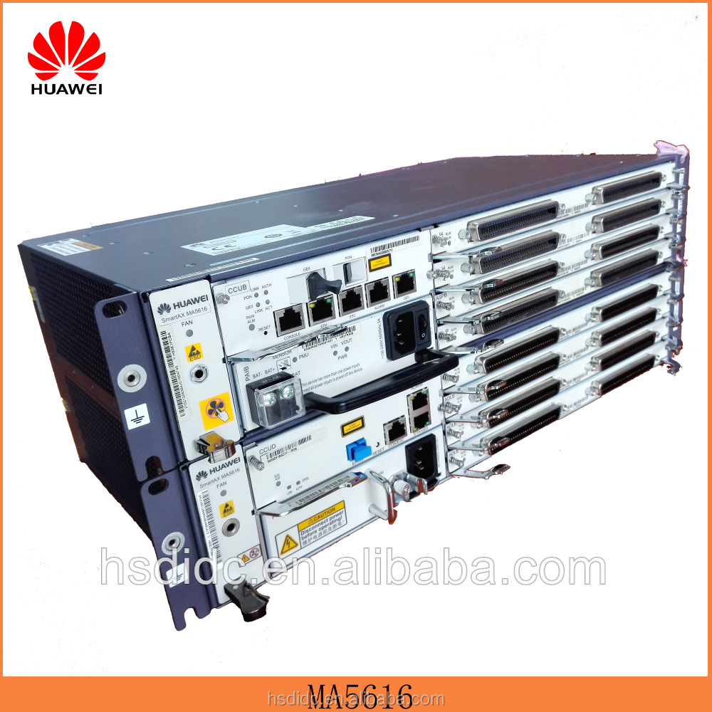 Huawei original smartax MA5616 integrated access VDSL VDSL2 16 port gpon IP dslam