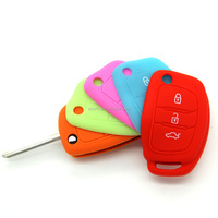 Topbest good price blank key for transponder key covers car key silicone case for Hyundai