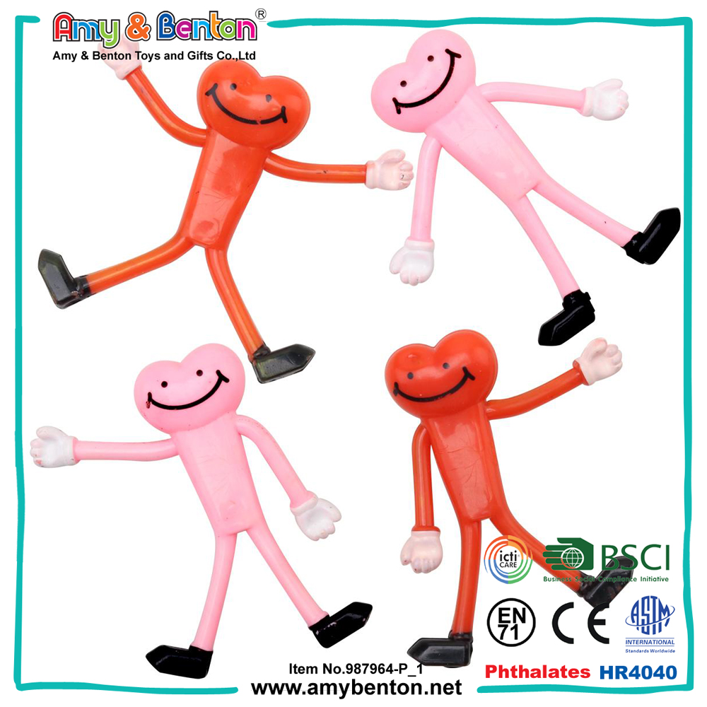 Bendable toy figures iron wire man OEM toy manufactor
