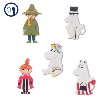 Factory Customized material Cartoon Silicon Refrigerator Magnet, 3D Character Soft silicon Fridge Magnet