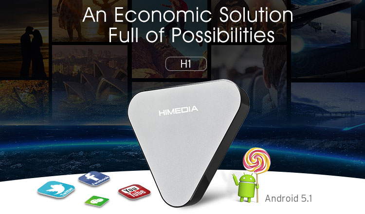 International Rk3229 4K Flash Player Wifi Octa Core Android 5.1 Google Smart Tv Box