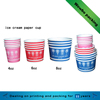 custom printed frozen yogurt ice cream paper cup / paper bowls with recycled material