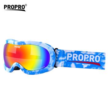 e949948bc71 Niños nieve belleza marco anti niebla y UV protected snowsport niños gafas  de esquí
