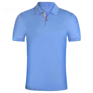 High quality men fashion blank polyester t-shirt polo