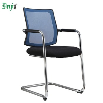 hospital visitor chair chrome frame mesh back office visitor chair