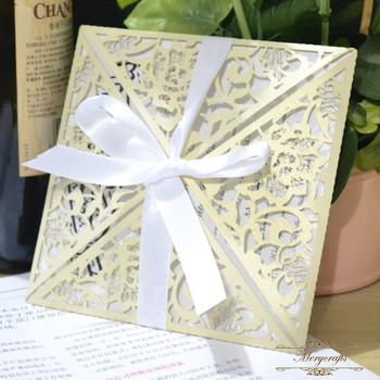 Mr046 elegant paper gift birthday supplies folded laser cut wedding mr046 elegant paper gift birthday supplies folded laser cut wedding invitation card stopboris Images
