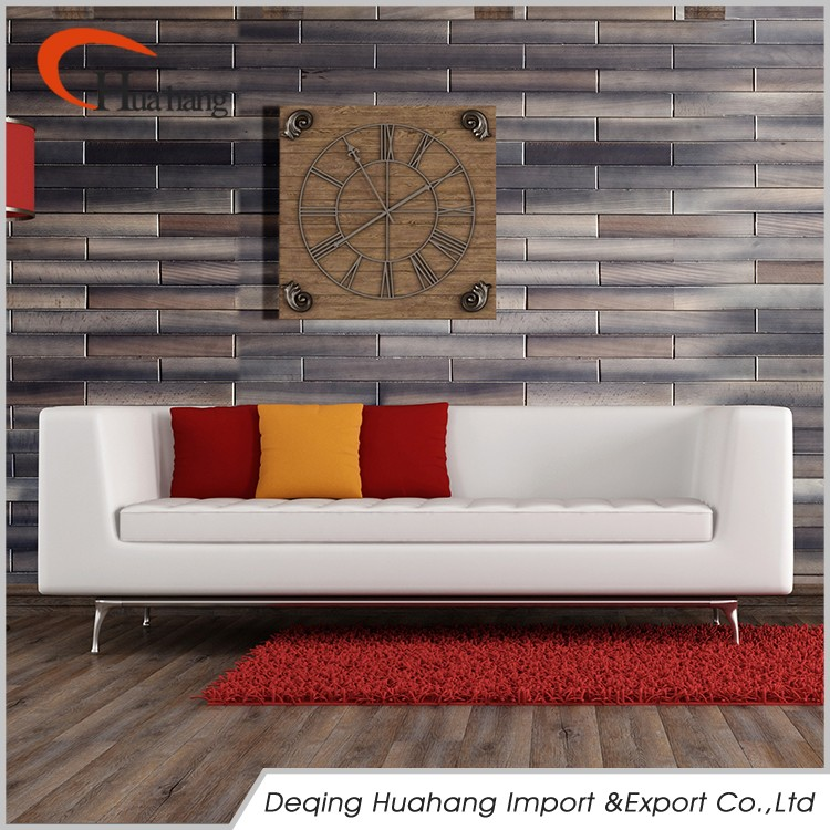 Interior Decoration Wood Wall Of Tv Background Wall Paneling
