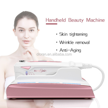 Ultrasonic Mini HIFU Skin Rejuvenation RF Lifting Beauty Therapy High Intensity Focused Ultrasound Skin Care Device