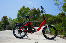 Ladies style city 20 inch folding electric bike