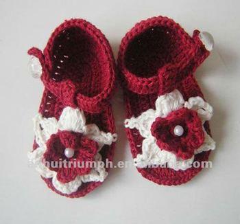 Täglichen Verschleiß Häkeln Baby Sandale Buy Babyschuhe Sandalen