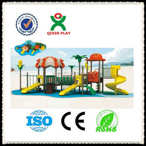 Wonderful processing toddler outdoor playset/creative playthings children/slip and slides/ QX-11026B
