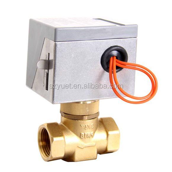 Electric Motorized Zone electric 2 way control valve