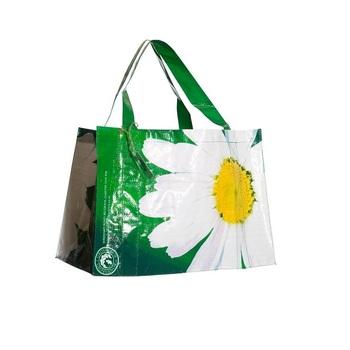 de2bfead7212 Металлическая фольга pp Тканые ламинированная сумка-шопер, pp тканые  покрытия сумка, pp Тканые