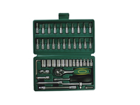 46pcs auto mechanics tools set automotive mechanic tools metric tool set