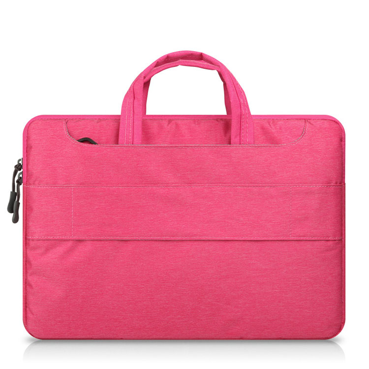 Pure color 11'' 12 13 14 15 15.6 inch slim laptop bag shoulder briefcase