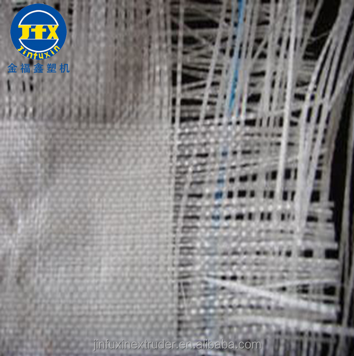 hdpe pp pe plastic extrusion flat film stretching line yarn string nylon round wire monofilament fibre extruder making machine