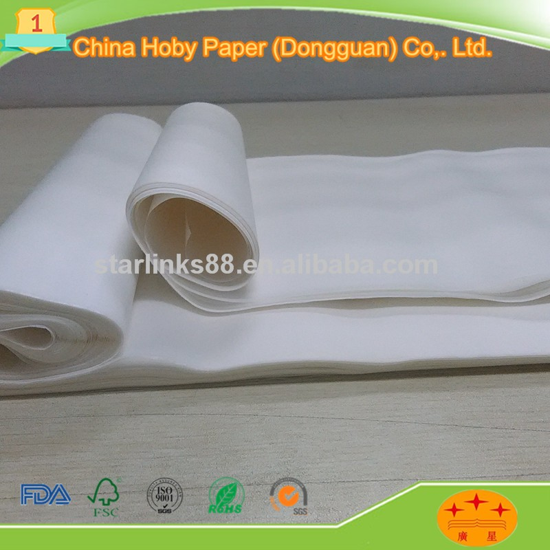 White color gift wrapping paper tissue paper single side double side copy paper