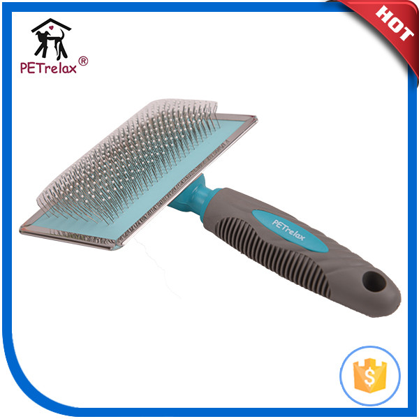 innovative pet product short hair dog brush for giant dog cleaning