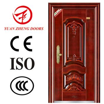 Outside door house main gate designs metal security door for Outside main door design