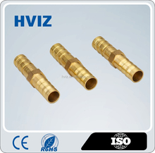 HVIZ CE china market High performance cheap brass pipe clamp joints male threaded nipple