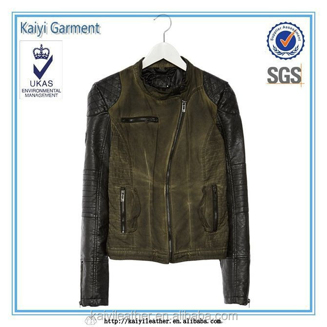 wholesale factory direct women leather canada famous brand jacket