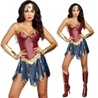 Popular Wonder Woman Costume Halloween Sexy Cosplay Costume
